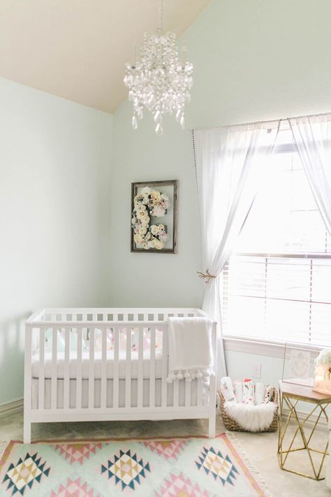 A Light And Airy Nursery Tour   Glitter Guide