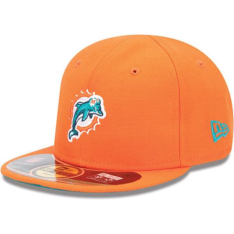 efcd93ce325 Infant Toddler New Era Miami Dolphins My 1st On Field 59FIFTY® Football  Structured Fitted Hat - NFLShop.com