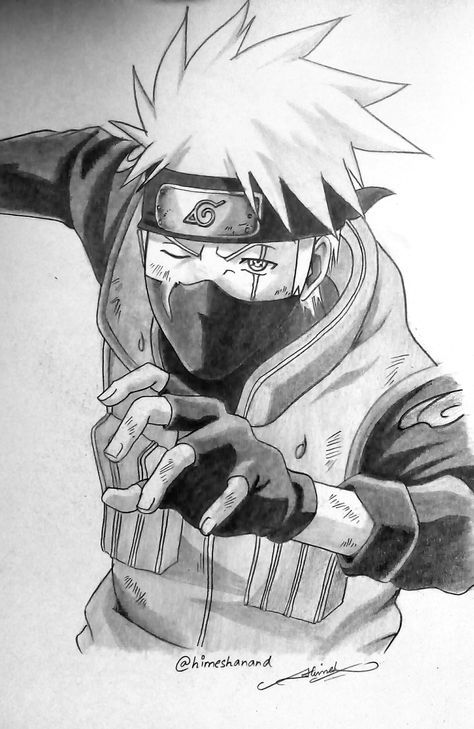 So Much Kakashi Photo With Images Naruto Sketch Kakashi