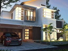 Hasil Gambar Untuk Gambar Rumah Tropis Modern 1 Lantai 3 Kamar Tidur Fachadas De Casas Modernas Fachadas De Casas Casas