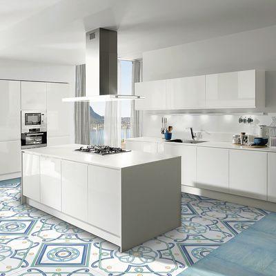 Piastrella Polveri Vietresi 60 5 X 60 5 Cm Sp 9 Mm Pei 4 5 Azzurro Moderne Kuche Moderne Weisse Kuchen Und Kuchen Ideen Kochinsel