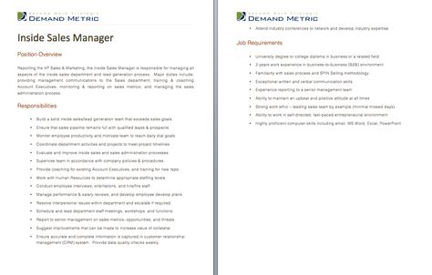 Quality Assurance Manager Job Description - A Template To Quickly