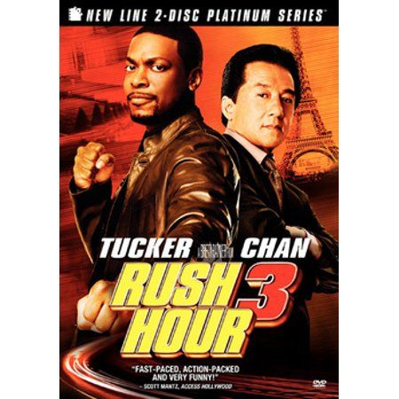 Rush Hour 3 Dvd Aa Rush Hour 3 3 Movie Rush Hour