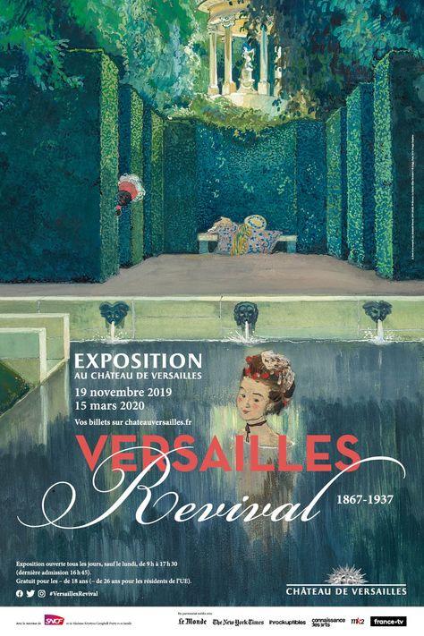 Versailles Revival 1867 1937 En 2020 Versailles Exposition Parc De Versailles