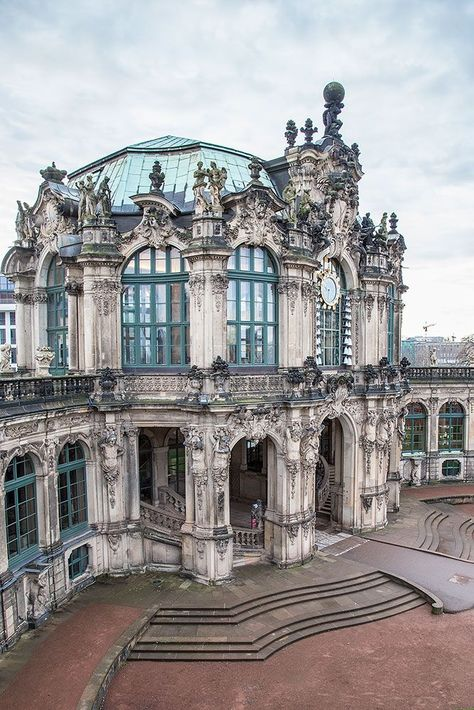 Zwinger Palace - the epitome of Baroque beauty in the world!