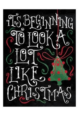 Art Print: Look Like Christmas by Jace Grey : 19x13in