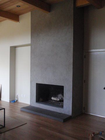 Fireplaces Natural Plasters Gypsos Artisan Finishes San