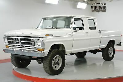 1971 Ford F 250 Pickup Truck Crew Cab Frame Off Restored 351 Auto