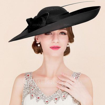 1f282f57e Ladies' Elegant Cambric With Bowknot Bowler/Cloche Hats/Kentucky ...