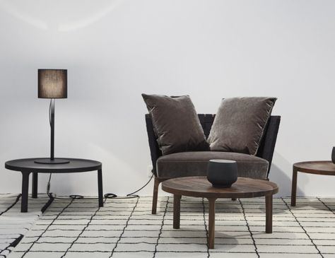 Luxury Glorious new Desdemone bed by Nasralleh u Horner for Ligne Roset This cosseting piece will be available with a choice of back heights when it e u