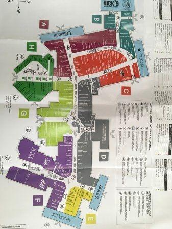 florida mall orlando map Florida Mall Map Pict Map Picture Of The Florida Mall Orlando florida mall orlando map