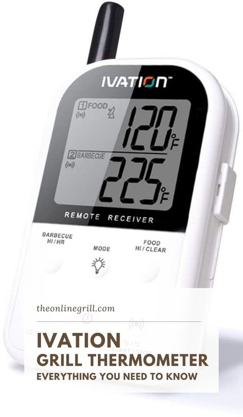If you're looking to make the step up to getting a good grill surface thermometer then look no further. The Ivation Long Range grill thermometer is one of the best grill tools and accessories that the barbecue world has to offer.Our review is here to show you why this is the only grill thermometer you need. #bbq #barbecue #grill #home #shopping #backyard