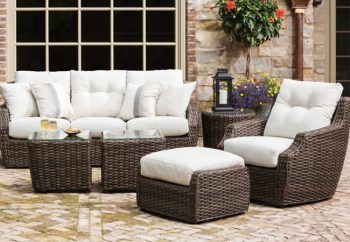 Lloyd Flanders Largo Seating Outdoor Living Furniture Quality