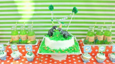 dinosaur birthday party ideas-09