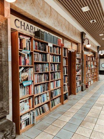 Charlie Byrnes Bookshop Irish Vacation Visit Dublin Ireland Road Trip