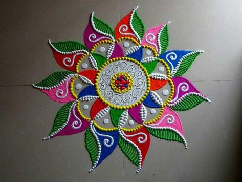 latest rangoli designs images 2018 for diwali