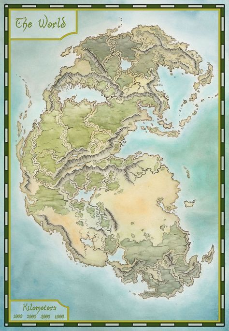 Pangea map by LingonB on DeviantArt   History in 2019   Fantasy map