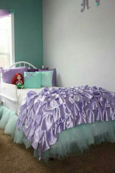 Most Design Ideas Little Mermaid Room Pictures And Inspiration Modern House Ungu