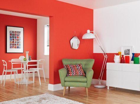 Peinture salon 2 couleurs ou unie - 31 idées de couleurs 2015