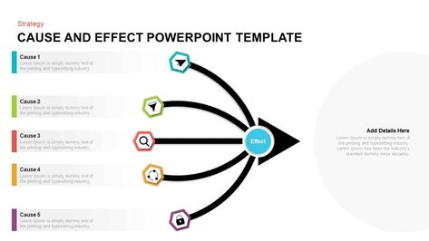 Cause And Effect Powerpoint Template Cause And Effect