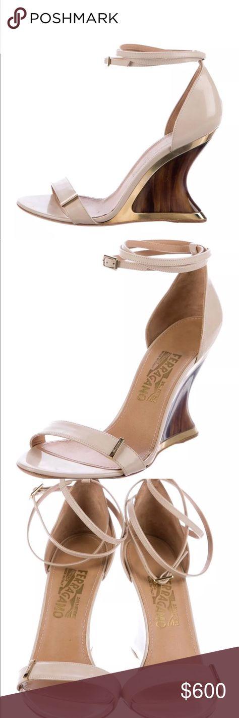 ccdb6bebc2d1 Christian Louboutin Dollyla 100 Bronze heels Authentic Christian Louboutin Dollyla  100 Bronze Cappuccino Ankle Strap Heel Pump 100 Metal Pat…