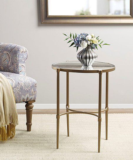 Martha Stewart Antique Bronze Lia Side Table | Zulily