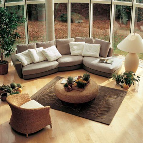 wicker living room furniture