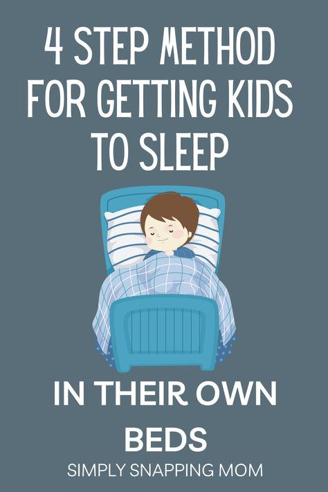 Get Kids to Sleep in Their Own Bed