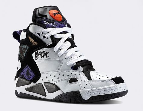 bcad1753399 Reebok Blacktop Battleground. Pumps with attitude. I remember these being a  pretty big deal.