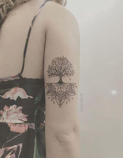 Feminine Unique Tree Of Life Tattoo : feminine, unique, tattoo, Ideas, Tattoo, Feminine, Ankle, Inspirational, Tattoos,