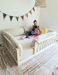 Baby Bedroom, Baby Room Decor, Girls Bedroom, Kids Bedroom Ideas, House Beds For Kids, Kid Beds, Bed For Kids, Kids Room Bed, Toddler Rooms