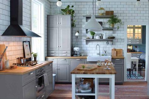 Ilot Central Cuisine Ikea Et Autres L Espace De Cuisson
