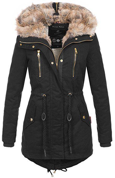 Damen Winter Pelzmantel Mit Kapuze Mid-lange Jacke Slim Fit Weiches Fell Mantal