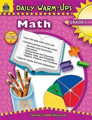 Daily Warm Ups Math Grade 5 Daily Math Teacher Created Resources Math