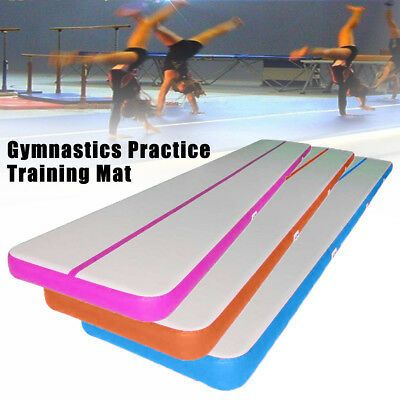 Ad Ebay Link 10ft Air Track Floor Gymnastics Inflatable Balance Tumbling Gym Train Mat Pump In 2020 Gymnastics Tumbling Mat Tumble Mats Gym Mats