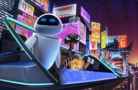 Retro Futurism of Wall-E Recalls 2001, Blade Runner