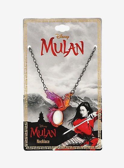 Disney Mulan Phoenix Necklace In 2020 Phoenix Necklace Mulan Safety Pin Earrings