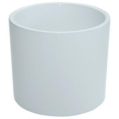 Oslonka Ceramiczna 23 Cm Biala Walec Ceramik Oslonki W Atrakcyjnej Cenie W Sklepach Leroy Merlin Trash Can Small Trash Can Canning