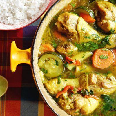 Colombo De Poulet Le Vrai Goût Des Antilles Sab N Pepper Recette Recettes De Cuisine Recette Cuisine Antillaise