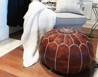Moroccan Pouf Discover The Best Quality Moroccan Leather Pouf 50