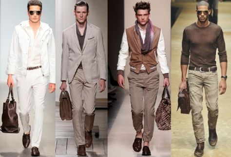 Cultivated_Menswear_Fashion everything in brown shades. Men's fashion in earth tones.