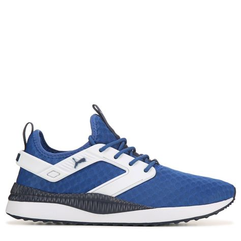 Puma Men's Pacer Next Excel Sneakers (BlueWhite) | Sneakers