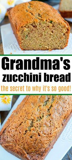 Best Zucchini Bread And The Trick To How To Get It Moist And Full Of Flavor Zucchinibread In 2020 Zucchini Bread Recipes Best Zucchini Bread Bread Recipes Homemade