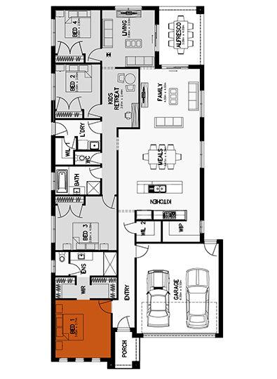 Hilton 26 Floor Plan Home Builders Melbourne Sims House Design Floor Plans