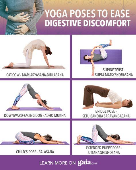 Yoga Poses to Ease Digestive Discomfort | Gaia