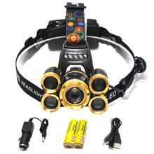 15000 Lumens Rechargeable Led Headlamp 3t6 5t6 Head Flashlight Cree Xml T6 Head Lamp Waterproof Lights Headlight 18650 Battery Detailed Inform With Images Head Flashlight