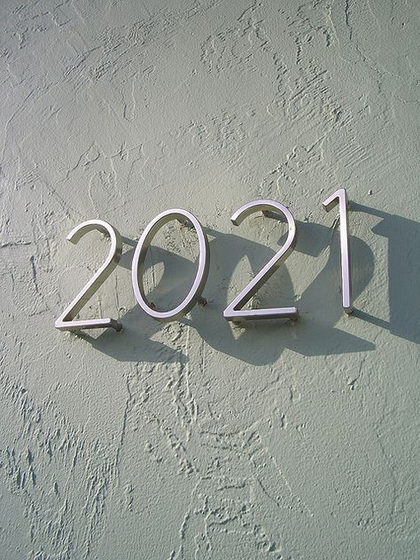 Modern address numbers
