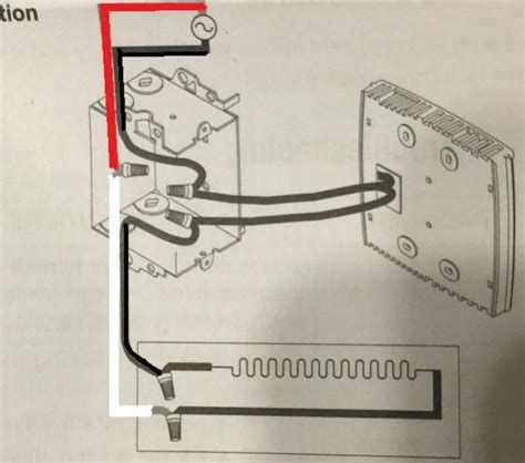 Wiring Diagram Line Voltage Thermostat Baseboard Heater