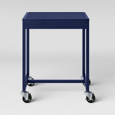 Metal Accent Table Navy Room Essentials Target Metal Accent Table Room Essentials Metal Side Table