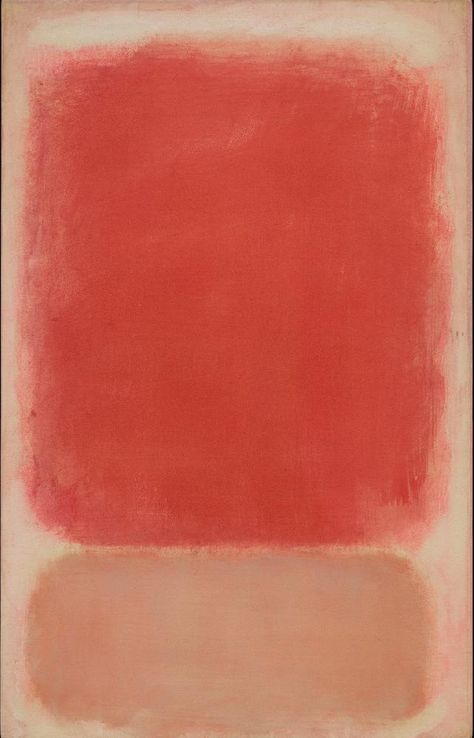 Mark Rothko, Untitled (Red and Pink on Tempera on paper mounted on board with acrylic The Museum of Fine Arts, Houston, bequest of Caroline Wiess Law. © 1998 by Kate Rothko Prizel and Christopher Rothko courtesy Museum of Fine Arts Houston Mark Rothko Paintings, Rothko Art, Franz Kline, Abstract Painters, Abstract Art, Willem De Kooning, Museum Of Fine Arts, Oeuvre D'art, Red And Pink